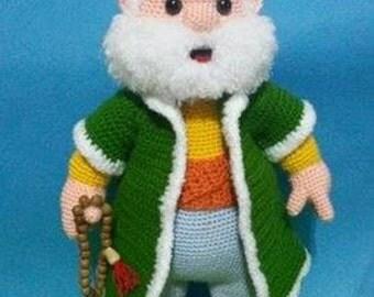 Nasreddin Hodja -Amigurumi Crochet Pattern -PDF