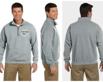 Logo Quarter Zip Sweatshirt