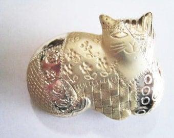 Fat Cat Pin