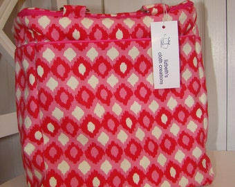 Pretty in Pink Insulated Tote