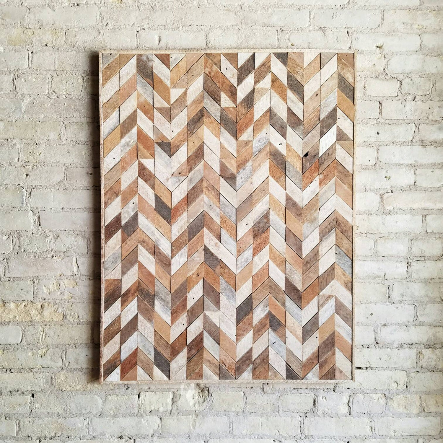 New Wooden Wall Art With Modern Flair