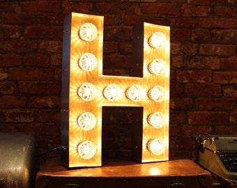 Letter Light H