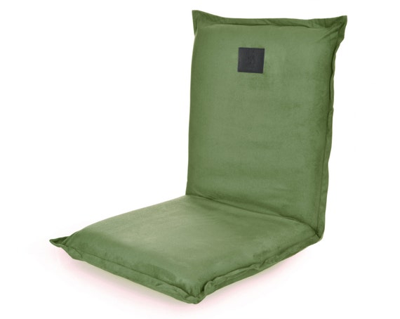 Like this item?  sc 1 st  Etsy & Omlove Green Suede Yoga Meditation Reclining Floor Chair