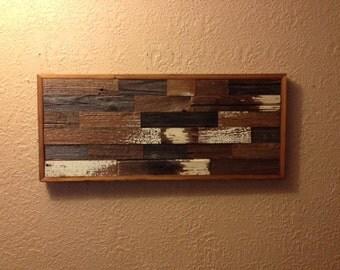 Reclaimed Barn Wood Rustic Wall Art/Wall Decor