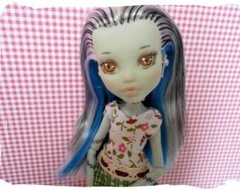 Monster High Repaint Frankie Stone