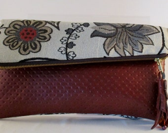 One of a kind designer cross body bag , purse, clutch, signed and numbered