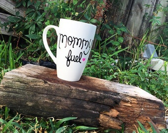 Mommy Fuel Mug...Best Mom...Mug...Special Occassion...Personalized Gifts...Funny Coffee Mugs...Funny Gifts...Mom Fuel Mug