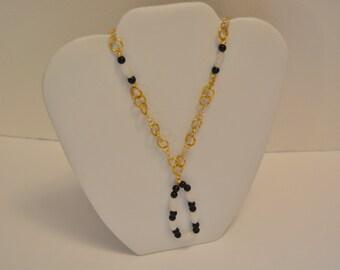 Gemstone & Gold Necklace