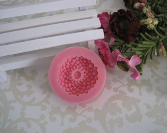 Lotus Flower Silicone Mold - Lotus Flower Mold - silicone mold, craft mold,  jewelry mold, food mold, resin mold, clay mold, flexible mold