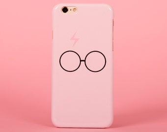Harry Potter pink scar and glasses - iPhone 7 case, samsung s7 case, iphone 7 plus case, iphone se case 1P001B