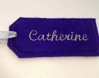 Wedding tags personalised with any name. Various colours available.