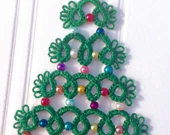 Tatted Christmas decoration