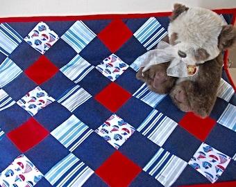 Patchwork Quilt/ play mat