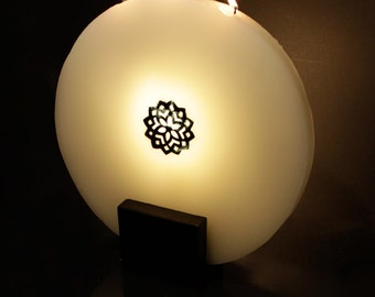 Bougie décorative L000 l000 H030 D030