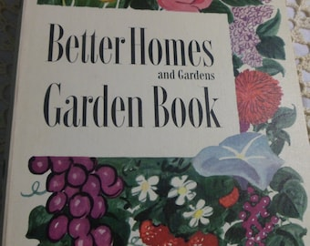 Better Homes And Gardens Garden Book Vintage