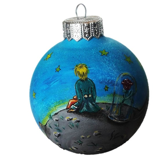 Hand painted christmas ornaments ready to ship christmas ball for Painted glass ornaments crafts