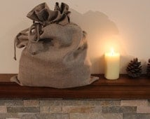 Linen bag / Large laundry bag / Natural flax bag / Stoarage bags / Laundry bags
