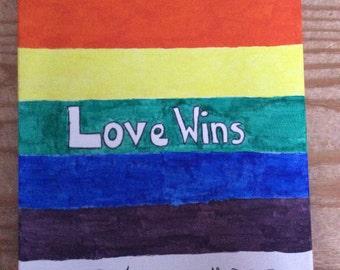 Love Wins Canvas