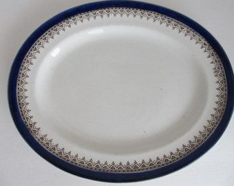 "Royal Doulton Burslem ENGLAND 10"" Platter - Belmont pattern"