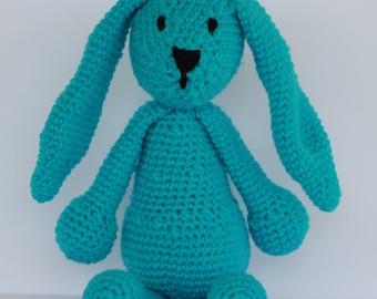 Bright Blue Bunny