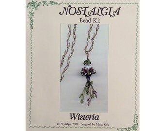Wisteria Necklace - Beading Kit
