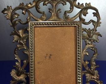 Ornate Filigree Photo Frame
