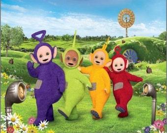"2"" x 3"" Magnet Tell a Tubbies Children'sTV show"