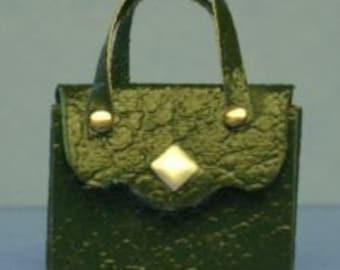1:12  Miniature Leather Purse Kit/ Dollhouse Miniatures DI Pk5