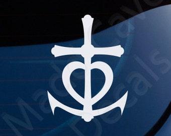 "Shop ""anchor decal"" in Spirituality & Religion"
