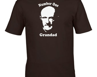 Number one grandad - US Crime Drama Series Inspired Men's T-shirt from FatCuckoo - MTS1519
