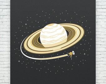 Saturn and Cassini