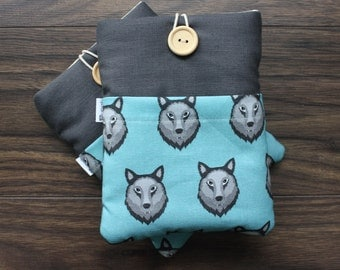 WOLVES DESIGN! Kindle Paperwhite Case, Kindle Paperwhite Sleeve, Kindle Cover, e-reader, e-book, Kindle Sleeve, Kindle Case
