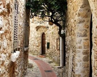 Village of Èze - Provence-Alpes-Côte d'Azur - Alpes-Maritimes - Sud de la France - France - Photo - Print