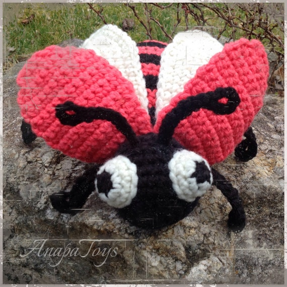 Amigurumi Beetle : Beetle AMIGURUMI by ANAPATOYS on Etsy