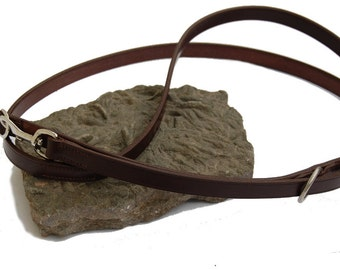 Hand Made Leather Dog-Lead (adjustable)