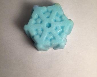 Jumbo Snowflake Soap