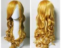 Butterscotch Blonde Curly cosplay/fashion/lolita wig