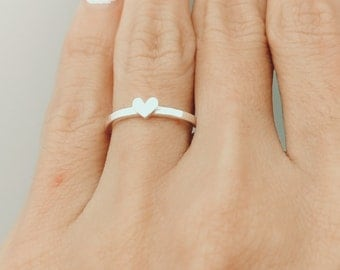 Purity Ring, Gold Ring, Dainty Ring, Dainty Ring Silver, Rose Gold, Stacking Ring, Stackable Ring, Girlfriend Gift, Gift, Dainty Simple Ring