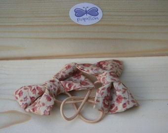 Flower  Hair bow pair