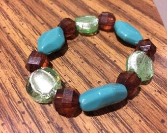 Terria & Oceana Elastic Bracelet