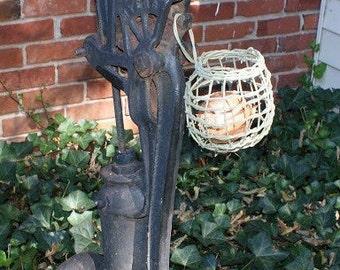 Hanging Shaker onion basket,  green basket, fruit basket,  garlic basket, woven basket