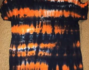 Halloween Stripes Tie Dye