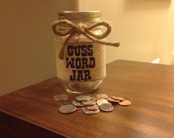 Cuss/Swear Word Jar