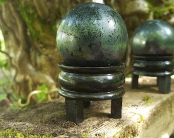 Specular Indian Hematite Globes