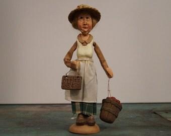 Whimsical Melancholy Doll-Agnes
