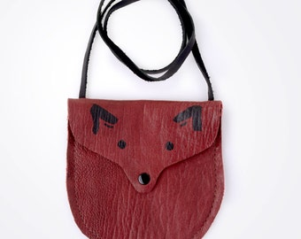 TODDLER POUCH/PURSE - Treasure Pouch (Fox)
