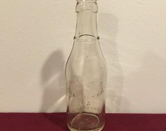 Vintage Bottle, Crystal Bottling Works, Harrisburg PA, 7 oz. bottle