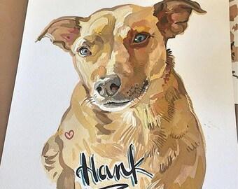 Custom Dog Portrait / Pet Portrait