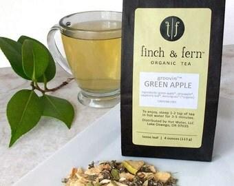 Organic Tea: GREEN APPLE | Herbal, Loose Leaf | Large (4 oz)
