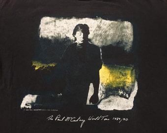 89/90 Paul McCartney World Tour M shirt